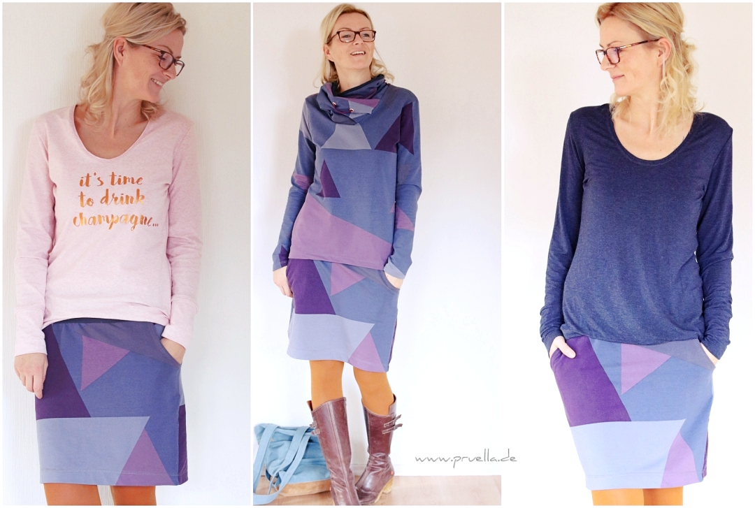 prülla, pruella, Frowein, brinarina, else, tutorial, sweater, Rock