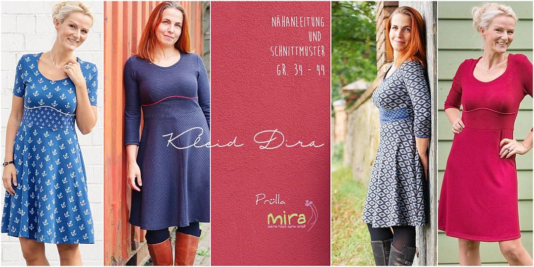 Neues Schnittmuster: Kleid Dira – Prülla