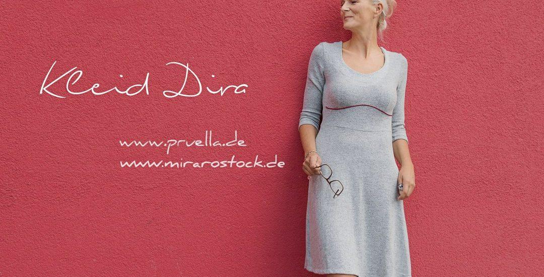 Kleid Dira – schick in Strick samt Unterkleid – Prülla
