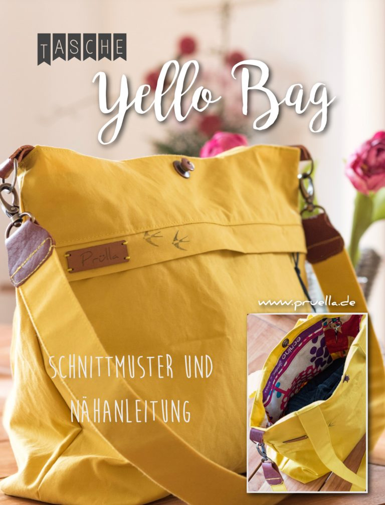 Pruella yello_bag schnittmuster ebook yello bag