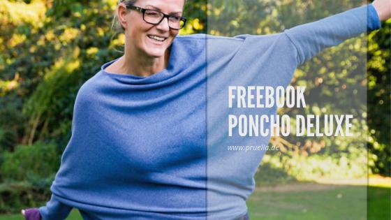 Pruella freebook poncho deluxe