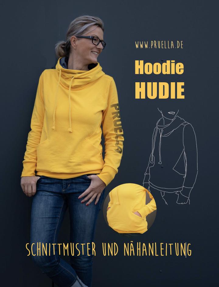 Pruella Schnittmuster Nähanleitung Hoodie Hudie