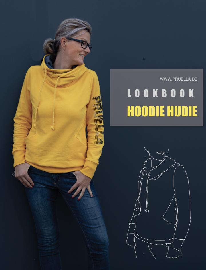 Pruella Schnittmuster Lookbook Hoodie Hudie
