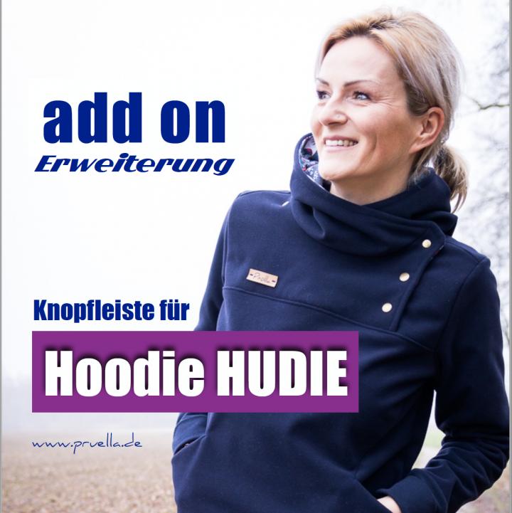 Pruella Hoodie Hudie Add on Erweiterung Knopfleiste